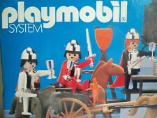 K180088 KNIGHT SPECIAL DELUXE SET MISB SEALED MINT IN BOX PLAYMOBIL 1303 VINTAGE