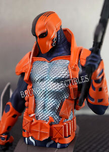 New 52 Deathstroke Bust DC Comics Super Villains Statue DC Collectibles