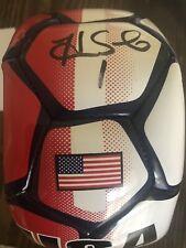 Hope Solo Signed USA Soccer Ball (JSA)