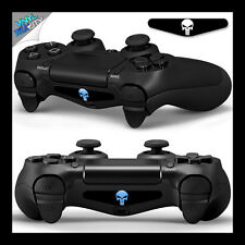 2 x MARVEL PUNISHER PS4 Playstation 4 Controller LIGHT BAR LED DECAL STICKER