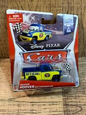Disney Cars Dexter Hoover With Checkered Flag 2013 NEW Piston Cup