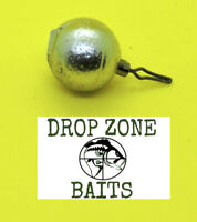 25 Count 1/8 oz Round Drop Shot Sinkers / Weights