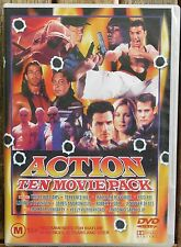 ACTION  10 Movie Pack (Bulk) Treat Williams, Terrence Hill, Jennifer Beals (B43)