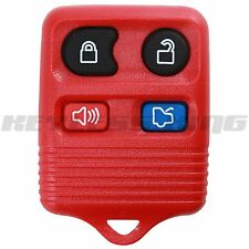 New Red Replacement Keyless Entry Remote Car Truck Key Fob Beeper Control