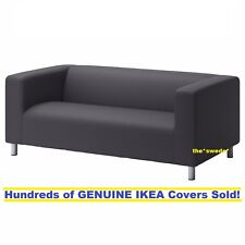 Ikea KLIPPAN Loveseat (2 seat sofa) Cover Slipcover VISSLE GRAY New SEALED!