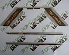 LAND ROVER DEFENDER 90 1992-1998 DECAL Graphics Stripes Sticker SET