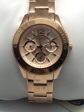 Fossil ES3815 Stella Women's Stainless Steel Analog Rose Gold Dial Watch XR103