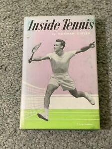 1954 Inside Tennis Book by Norman Cutler First Printing Hardcover w/Dust Jacket