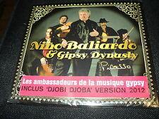 """CD DIGIPACK NEUF """"NINO BALIARDO & GIPSY DYNASTY - PICASSO"""""""