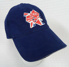New LONDON Olympics 2012 NAVY Blue UNION Jack BASEBALL Cap HAT Official Product