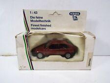 SCHABAK 1000 VW POLO IN DARK RED 1:43 SCALE MINT BOXED  (Z279)