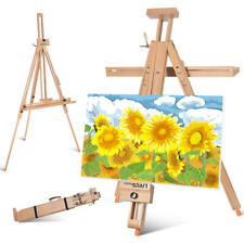 Art Tripod Artist Adjustable Foldable Easel Portable Painting For Travel Outdoor