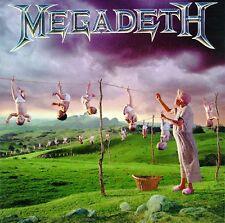 MEGADETH - YOUTHANASIA - CD SIGILLATO CAPITOL 2004