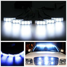 18 LED For Car Truck White Flash Emergency Strobe Grill Light Lamp Waterproof