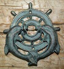 Mermaid Door Knocker Nautical Ocean Beach Home Cottage Rustic Cast Iron Decor
