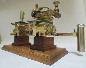 """Steam Engine- boiler feed pump- open Southworth - 8"""" long brass body- Perfected"""