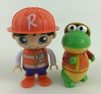 Ryans World Bonkers Toy 2pc Lot 2018 Action Figures Construction Worker Gus B10