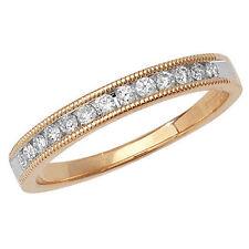 Unbranded Diamond Eternity Yellow Gold Fine Rings