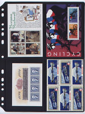 **ANCHOR 25 New Stock Pages 2ST (Cross) for Plate /Booklets, S/S  FREE SHIPPING.