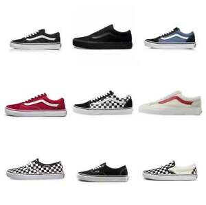 UK Van Old Skool Skate Shoes All Size Classic Canvas Sneakers Size UK3-10
