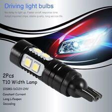 2Pcs 50W 912 921 T10 LED 6000K HID White Backup Reverse Lights Bulb HQ
