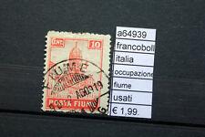 FRANCOBOLLI ITALIA OCCUPAZIONE FIUME USATI (A64939)