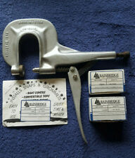 HOOVER PRESS N SNAP, Professional Snap And Grommet Tool. Excellent Shape...