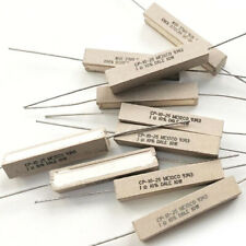 Dale 1 Ohm 10 Watt Resistor Cp 10 25 9343 1 Ohm 10 Pack Of 10