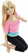 "M�""DCHEN Mattel Barbie Modepuppen Barbie Made to Move mit pinkem Top"