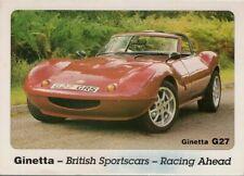Ginetta G27 Mid 1990s UK Market Foldout Sales Brochure