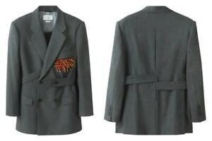 Toga Archives X H&M HM Tab-Detail Wool Blazer Jacket XS S M L Small Medium Large