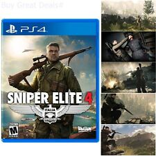 Sniper Elite 4 For PlayStation 4 Brand New Ps4 Games Factory Sealed