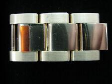 1 Authentic Rolex 15.5mm 18k Yellow Gold Bracelet Link OEM