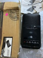 Vintage Ge General Portable Recorder Cassette Tape Player 3-5025A New Unused