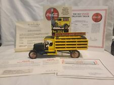 Mint 1927 Ford TT Open Cab Coca-Cola Delivery Truck Die-cast 1:24 Scale