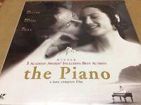 The Piano Laserdisc LD Holly Hunter Harvey Keitel Sam Neill BRAND NEW