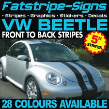 VW BEETLE STRIPES GRAPHICS STICKERS DECALS VOLKSWAGEN V DUB R LINE 1.6 1.8 TURBO