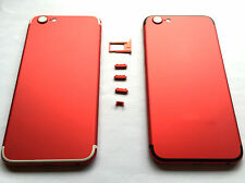 RED Rear Chassis Replacement Housing Cover Back Case For Apple iphone6 6S-7 UK
