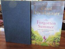 The Forgotten Summer ~ Carol Drinkwater. HARDcover + Dj  1st UK Edn  NEW in MELB