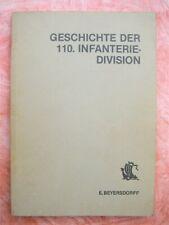 Geschichte der 110. Infanterie-Division  -  Ausgabe 1965  -  Podzun-Verlag