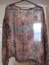 WOMENS  NEXT  TUNIC EMBROIDERY SEQUIM SIZE 14