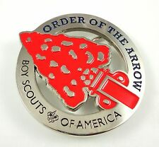 NEW Order of the Arrow Traditional OA Logo Belt Buckle **STUNNING**