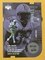 1998 UPPER DECK RANDY MOSS DEFINE THE GAME ROOKIE DIE-CUT #DG7 #ed /1500 NMT-MT