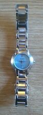 NEXT: LADIES STAINLESS STEEL WRISTWATCH WITH BLUE DIAL