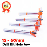 15mm-60mm Forstner Bit Woodworking Drill Bit Set Boring Hole Saw Cutter Carbide
