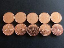 Lot 10 Pièces monnaies THAILANDE 10 coins Set THAILAND 25 SATANG NEW NEUVE UNC