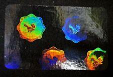 Hologram Overlays Eagle Seal Overlay Inkjet Teslin ID Cards - Lot of 100