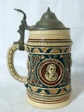 Antique German Beer Stein 1800s Schubert Schaller Schnorr