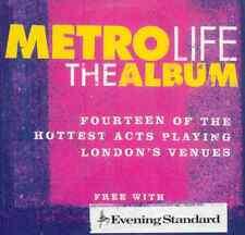 METRO LIFE: THE ALBUM - PROMO CD: WILT SUEDE BEDROCK RÖYKSOPP, TURIN BRAKES ETC