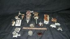 VINTAGE TUBE RADIO LOT ELECTRICAL PARTS  ANTIQUE SWITCHES KNIVE SWITCH +